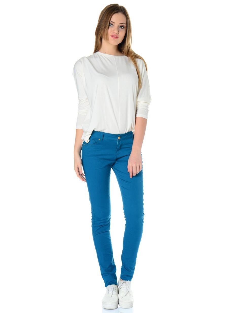 Kadın T-Box Slim Fit Pantolon